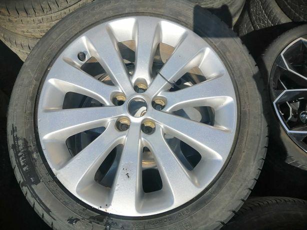 """Alufelga Opel Astra J 17"""" Opona GOODYEAR 215/50R17 91V 2011r"""
