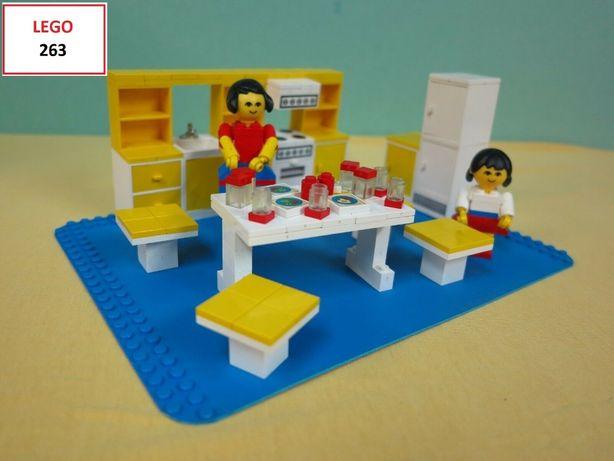 LEGO Homemaker / Furniture (5 sets) - 263; 266; 273; 290; 295