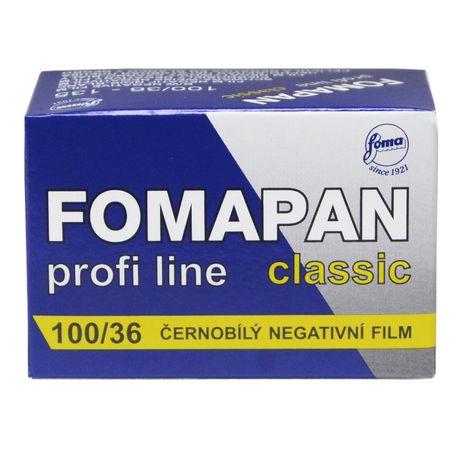 Фотопленка, фотоплівка ч/б Foma Fomapan 35 мм 100 s 400