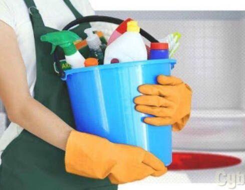 Limpezas em geral.