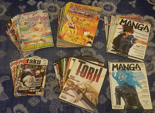 Manga Mangi Anime Czasopisma Arigato Kawaii Mangazyn Otaku Torii