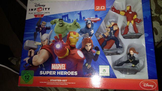 Gra Disney Marvel Super Heroes 2.0 Xbox 360 zestaw gra i figurki!