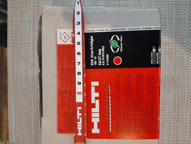 Naboje szczałowe czerwone HILTI 230 sztuk