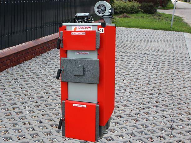 Promocja nowy kocioł piec na drewno węgiel 15kw do100m wysyłka 0zl!