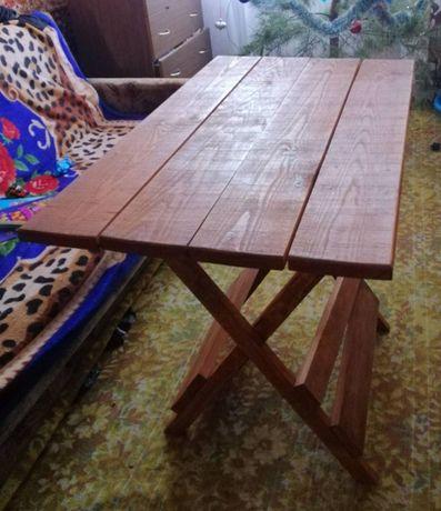 Стіл розкладний деревяний