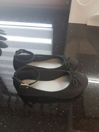 Buty czarne zamsz rozm. 29