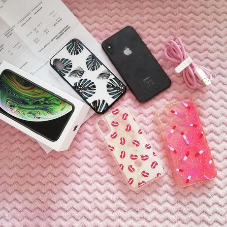 iPhone XS 64 GB gwarancja etui ładowarka szkło