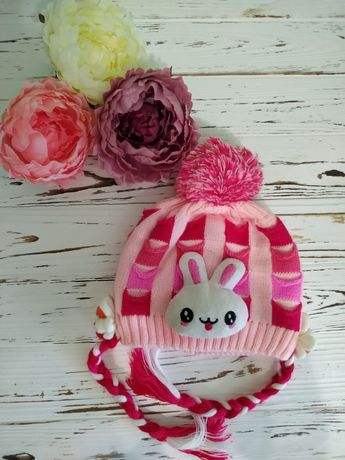 Детская зимняя шапочка для девочки на девочку