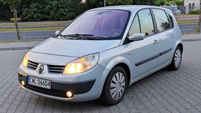 Renault Scenic II 1,9 dci klimatronik 2004r Zamiana
