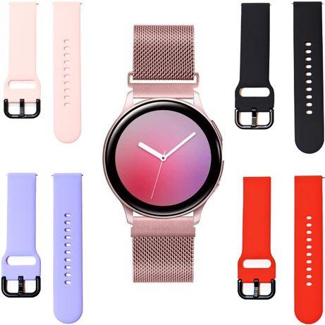 PASEK do Samsung Galaxy Watch Active 2, Huawei watch 2, różne kolory