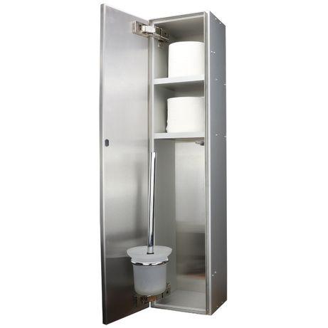Szafka łazienkowa, podtynkowa, schowek WC, moduł WC, szczotka WC,
