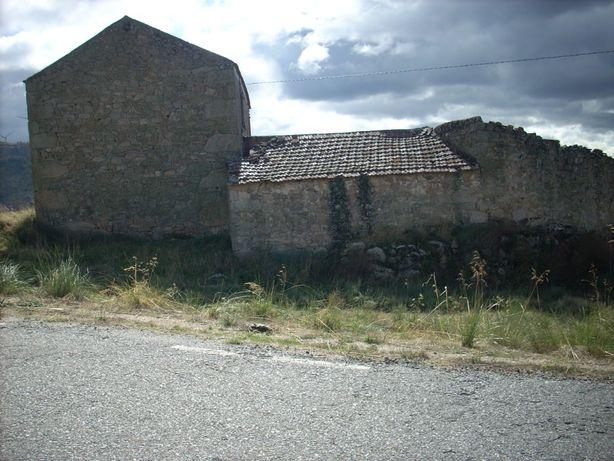 casa e terrenos com vista pá serra da estrela