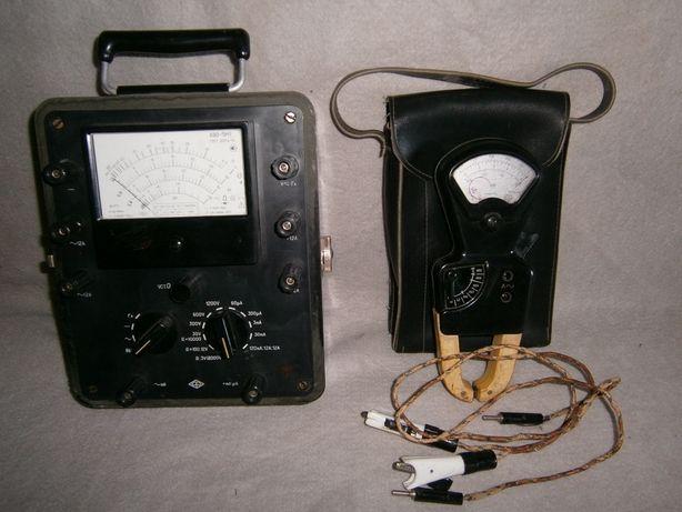 Тестер АВО-5М1 и клещи Ц91. Возможен обмен.