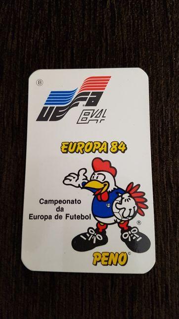 Calendário Euro 1984
