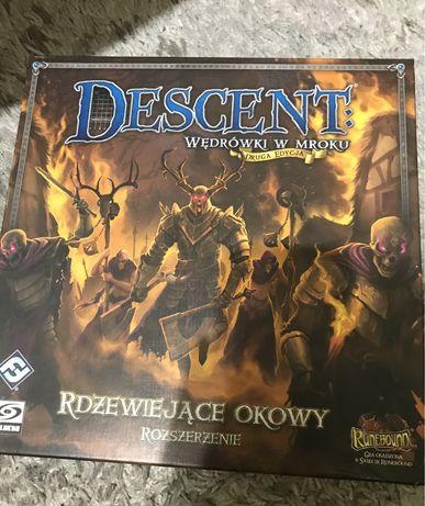Gra planszowa Descent Rdzewiejące Okowy