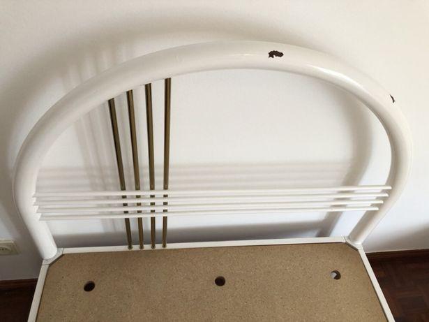 Camas de ferro solteiro com colchão