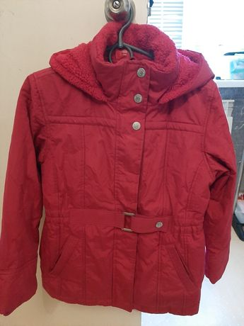 Куртки две для девочки на 10-12 лет