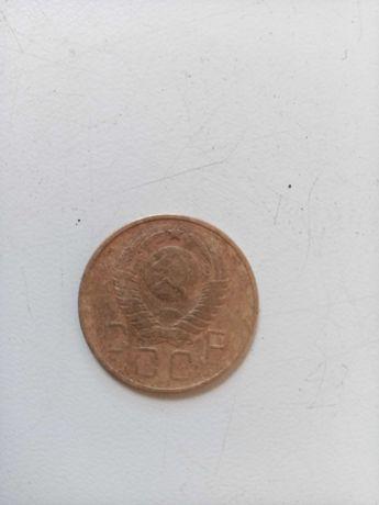 монета 3 рубля 1957