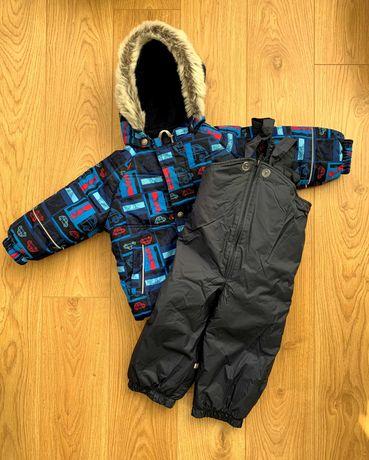 Зимний комплект для мальчика Lenne, ленне, комбинезон ,  80 +6