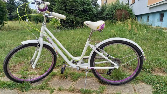 rower dla dziewczynki GIANT liv flourish 24