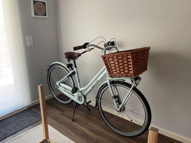 "Bicicleta Gazelle Miss Grace, Whispering Blue - frame 49 cms, roda 28"""
