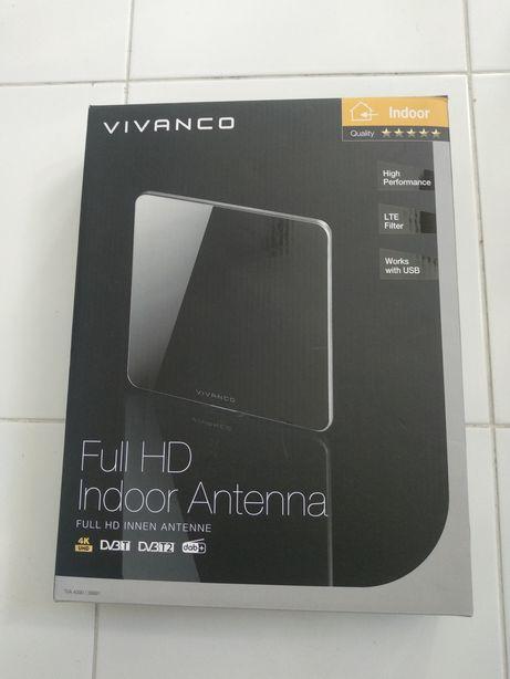 Płaska antena pokojowa Full HD