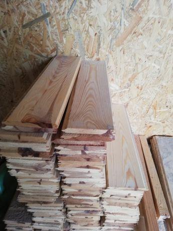 Podbitka dachowa deska elewacyjna boazeria sosnowa