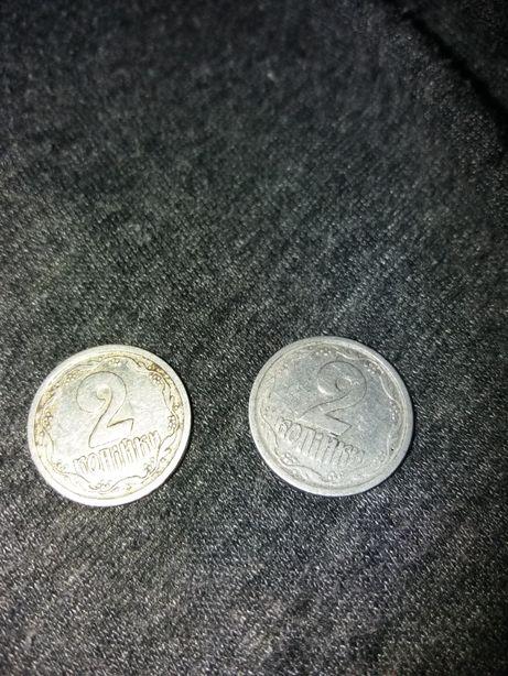 Редкая монета 2 копійки 1993 года