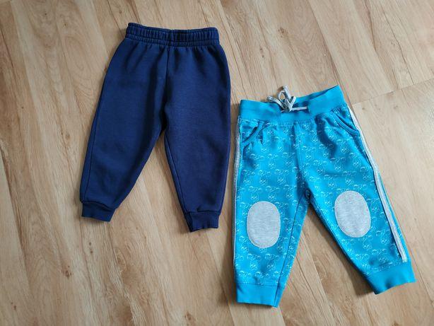 Spodnie dresowe dla chłopca 80