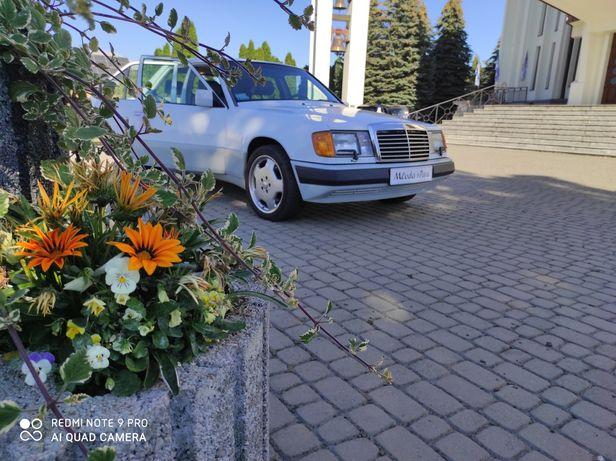 Piękny Mercedes V8 do ślubu