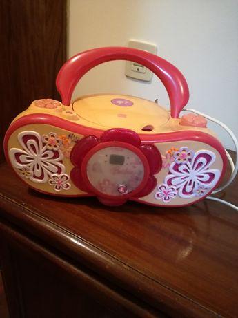 Radio leitor de cd  Barbie