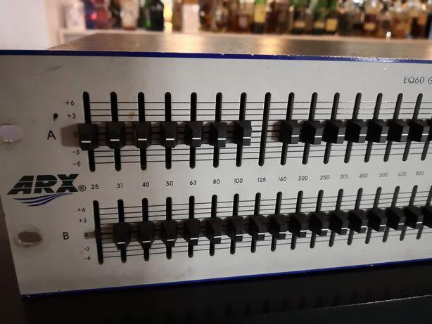 Equalizador gráfico ARX EQ60