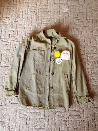 Стильная куртка zara. Рост 164 см
