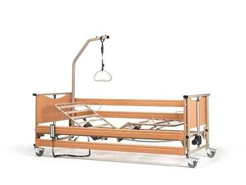 Łóżko medyczne z wyposażeniem