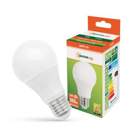 Żarówka LED E27 10W=60W ciepła WOJ13902 SPECTRUM LED