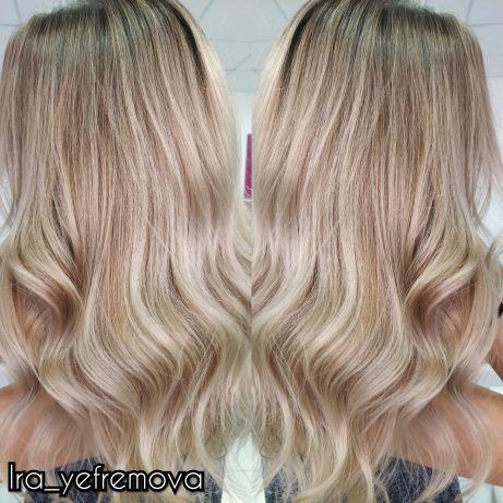 Окрашивание волос, нанопластика волос, кератиновое выпрямление, ботокc
