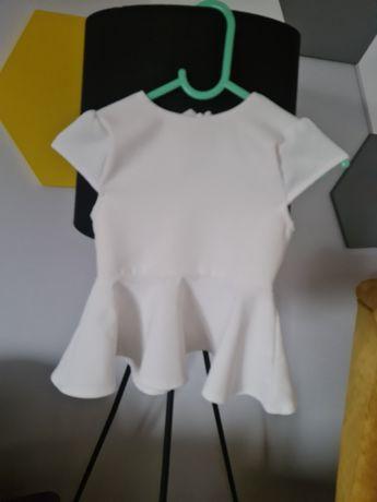 Bluzka z baskinką