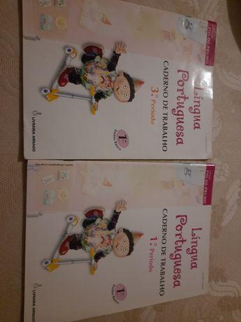 Livros português 1ano