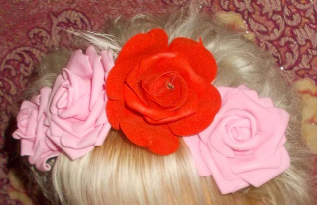 Украшения Приколки Из Фоамирана для волос