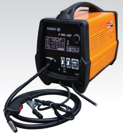 Aparelho Semi-Automático Portátil Soldar c/ ou sem gás 180A 230V