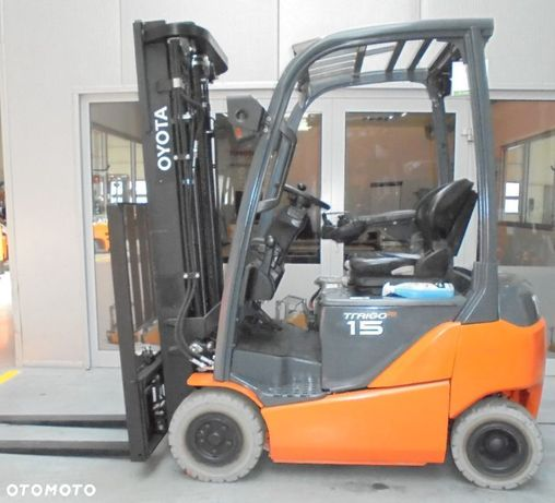 Toyota 8FBMT15  Gwarancja bezpośrednio od TOYOTA! wózek 48V triplex 4,7m