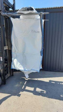 Nowy big bag 170 cm wysokości / łatwy transport i ładowanie worka!