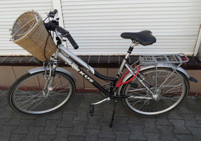 Rower damski ARKUS 1100 26 koła koszyk
