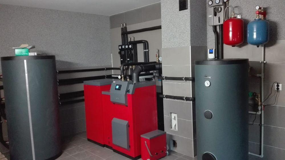 Hydraulik kocioł gazowy pelet groszek ogrzewanie podłogowe dofinanso Kielce - image 1