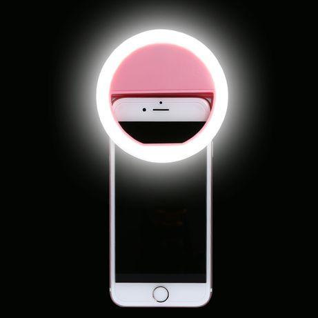Кольцевой  свет на телефон