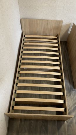 Кровать 90х200 дуб сонома