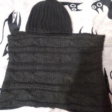 Шапочка і шарфик дуже тепленькі