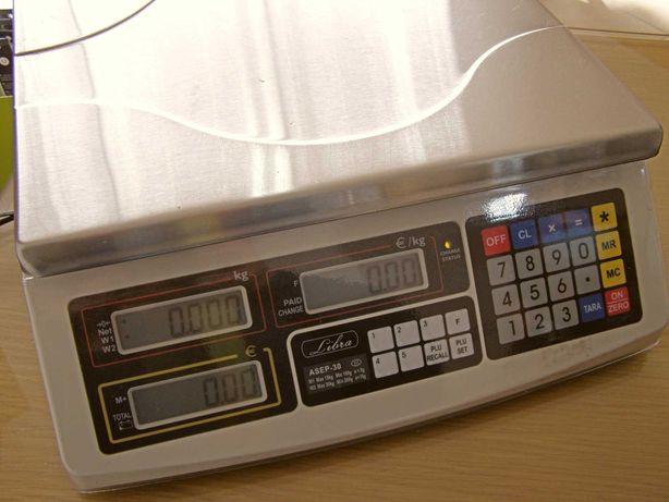 Balança Peso/Preço ASEP-30 15/30kg x 5/10g