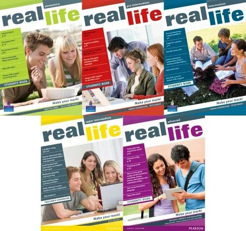 Real Life Elementary, Pre-, Upper-, Intermediate, Advanced PDF