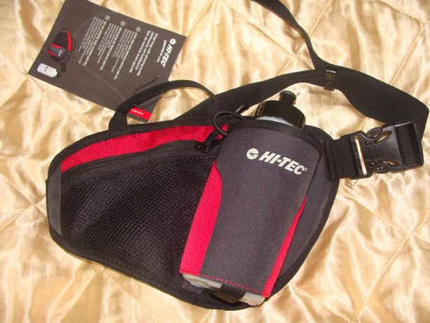 Hi-Tec новая сумка на пояс барсетка с бутылкой для бега Nike оригинал